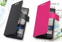 Special offer! For HTC Desire 600 606W Doormoon leather Case flip Cover