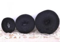 Hot Sale 3 sizes Hair Styling Donut Magic Sponge Bun Ring Maker Former Twist Tool Hair Disk