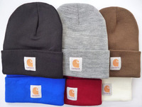 Shipping Fashion Hiphop Carhartt Beanie Hats 8 colors for men and women winter knitted hats many brands mix order photo album