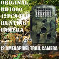 Original RD1000 Trail Farm Hunting Camera Cam 2.4' LCD Bulit-in 42pcs LED 12MP 1080P Hunting Wildlife Trail Surveillance Camera