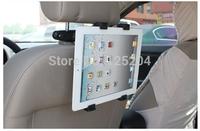 360 degree Rotating universal Car Seat Headrest Mount Holder car tablet holder for iPad 2 3 4 samsung tablet free shipping