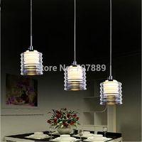 Modern acrylic pendant lights Dining room led lamp Fashion brief restaurant hanging lighting fixture Free shipping