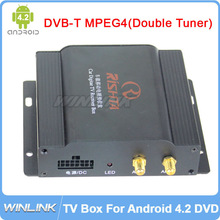 Special DVB-T MPEG4 (Double Tuner) TV Box Tuners For Android 4.2.2 Car DVD Player. The item just for our DVD(China (Mainland))