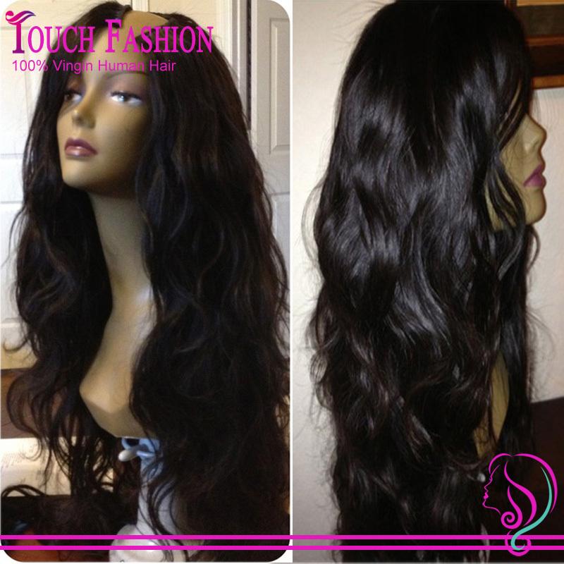 Human Hair Half Wigs For Natural Hair 98