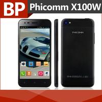 Original Phicomm X100w 4.7 Inch Qualcomm MSM8625Q Quad Core Android 4.1 Mobile Cell Phone 1GB RAM 8GB ROM 8MP BT GPS Wifi