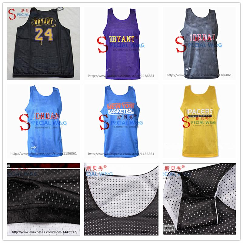 Free Shipping Basketball Jersey Training Jersey Top Shirts, 20 Style, Top Quality, Print Logos, Size S-XXL, Wholesale&Retail(China (Mainland))