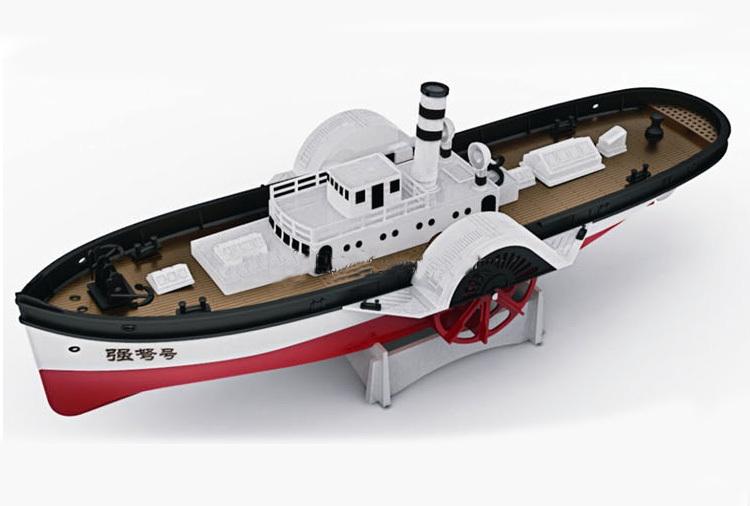 Колёсный пароход своими руками