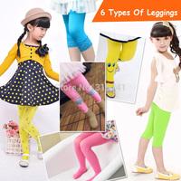 Free Shipping 8 Color New Kids Winter Warm Leggings Girls Casual Velvet Legging Knitted Thick Slim Cotton Leggings High Elastic