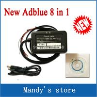 A+ Quality 2014 Newly Professional Adblue 8in1 New Arrival 8 in 1 AdBlue Emulator V3.0 with NOx sensor Adblue Emulator 8 in 1