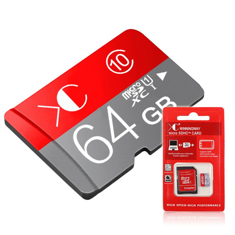 XC brand pass H2testw memory card micro sd card 32GB Class 10 usb flash Microsd SD card Adapter Reader pendrive 64GB 16GB 8GB(China (Mainland))