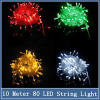 1x 10M 80 LED String Light 220V EU Plug Holiday Indoor Outdoor Christmas Xmas Wedding Party Decoration Garland Lighting