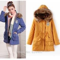 Women Winter Warm Faux Fur Hooded Parkas Coats Jackets chaquetas mujer Fleece Lined Cotton-Padding Clothing Plus Size S-XXXL 3XL