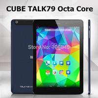 Cube Talk79 octa core 3G U55GT-C8 Tablet PC MTK8392 Octa Core 7.9inch Retina Screen 2048 x 1536 GPS Bluetooth 2GB Ram 16GB