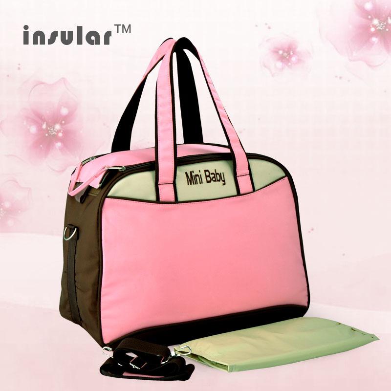 2015 New Fashion Nappy Bag/ Mother Shoulder Bags/Handbags Baby Carriage Bag/Babies Diaper Bag/Free Shipping/Korean Style(China (Mainland))