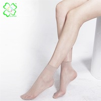 Sexy Socks Women Spring Short Silk Socks Ultrathin Smooth Thin High Quality Elasticity Female Brand Sexy Socks 5 Pairs/lot