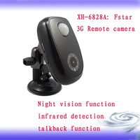 3G home alarm camera  with the intertalk function XH-6828A
