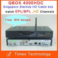 3pcs/lot Latest Singapore Starhub Cable TV Box BlackBox HD-C808 Plus upgrade of Blackbox hd c608 c601 watch nagra3,HD, BPL