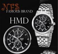 men quartz watch full stainless steel watches wristwatches, mans casual fashion wrist watch Men's Dress, relogio for man