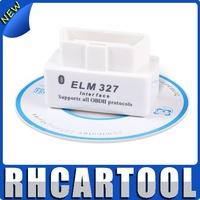 White ELM 327 Interface OBD2 / OBD II V1.5 Auto Wireless 327 White super mini elm327 bluetooth v2.1
