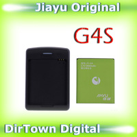 Excellent service Brand new 100% original 3000mAh Jiayu g4s Battery and Dock charger for JIAYU G4/G4C/G4S(thick version)