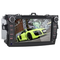 8 Inch 2 Din Android 4.2 Car DVD GPS for Toyota Colorra 2008-2011 with Bluetooth/TF/USB/RDS/8 GB Flash/Stereo In-dash Radio