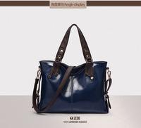 2014 new messenger bag new women handbag fashion genuine leather bag cross-body bolsas women leather bag