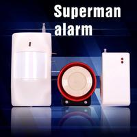 Free shipping Pir Sensor Intercom home Security 05R Intelligent Smoke Detector Alarm System