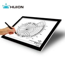 Huion ультра тонкий и свет 17.7 дюйм(ов) из светодиодов Artcraft трассировка площадку световой короб с USB кабель — L4S