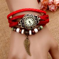 Retail free shipping New fashion Vintage women watch Ladies' watches fashion bracelet quartz watches digital watch