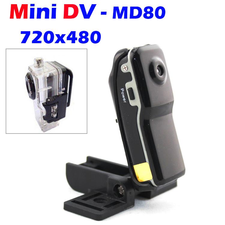 Novelty MD80 MINI DV 720P Digital Camera Action Sports Video Recorder Helmet Camcorder PC USB Webcam Micro DVR Brackets + Clips (China (Mainland))