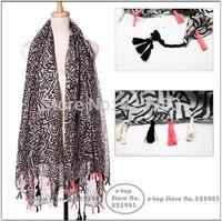 New Fashion Long Large Women Scarves Infinity Scarfs Geometric Print Desigual Scarf Pashmina Shawl Wraps Free Shipping A3597