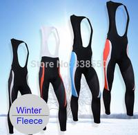 New 2014 Winter fleece Cycling Pants! Rider /Autumn sport Apparel/Spring tight suspenders/ BIB bike pants BF1007