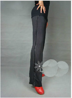 High quality spandex! Professional men dance pants / Latin / GB / practice pants / L XL 2XL 3XL or custom size / Free shipping