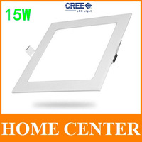 15W CREE LED Recessed Ceiling lights led Panel Lighting Bulb with driver Square free shipping with tracking number for dropship