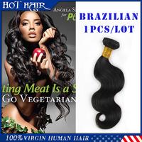 6A Grade Brazilian Virgin Hair Body Wave, Unprocessed Virgin Brazilian Body Wave Hair Extension Wholesale Human Hair Weave