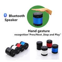 Subwoofer speakers CSR 4.0 MP3 player TF Card Reader bluetooth speaker mini speaker for iPhone iPad Notebook Handsfree N10 Blue