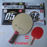 Butterfly Mizutani Jun Super ZLC Carbon 36601 Butterfly Table Tennis Blades + Tenergy 64 + 05 FX & 80 & YASAKA  rubber to racket
