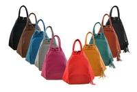 2015 Newest Special Design Multifunctional Shoulder Bags Tassel Decorated Women Messenger Bag Large Capacity Lady School bags