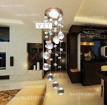 D85mm 3W LED k9 crystal chandeliers lights modern crystal lamps aisle high power lights 110V-240V(China (Mainland))