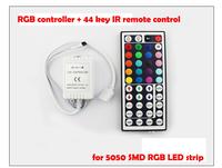 44 key IR remote control Receiver RGB controller for RGB LED strip light 5050 3528 SMD Flexible