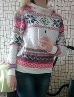 2014 New Winter Autumn Warm women hoody sweatshirt Snow Print hoodies high quality pullover weight 310g
