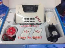 Free ship NEW GSM Alarm System smart home Burglar Security Detector Sensor ,mobile phone call GSM alarm system,GSM alarms