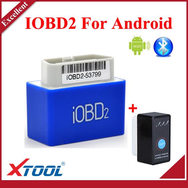 Оборудование для диагностики авто и мото 100% XTOOL iOBD2 XTOOL iOBD 2 Android Cummunicate Moblie Bluetooth оборудование для окраски авто цены