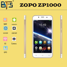 5.0 inch ZOPO ZP1000 MTK6592 Octa Core Cell Phones 1.7GHz IPS Capacitive Screen 1280×720 1GB/16GB 14.0MP Android 4.2