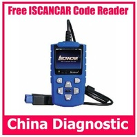 Free shipping iscancar code scanner ISCANCAR trouble code scan tool iscancar Auto diagnostic scanner iscancar code reader