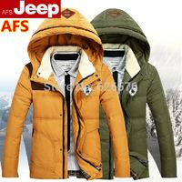 Men's Down jacket 90% Duck Down Winter Overcoat Outwear thick fur Cashmere warm Waterproof men jackets outdoor coat Clothes