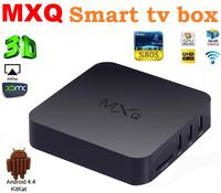 Original MXQ TV BOX MX Amlogic S805 Quad Core Android 4.4 Kitkat 4K 1GB/8GB XBMC WIFI Airplay Miracast Free Shipping