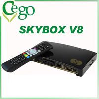 Original Receptor Satellite Digital HD DVB-S2 Skybox S-V8 HD Satellite Receiver Skybox S V8 2 USB Wifi 3G Cccamd YouPorn