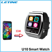 Best Christmas Gift !!!U8 U Pro Smart Bluetooth Wristwatches for iPhone 4/4S/5/5S/6 Samsung S4/Note 3 HTC SmartPhone Watch