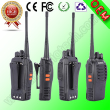 New Black BaoFeng 888S Walkie Talkie UHF:400-470MHz Two Way Radio anti-pressure strengthened edition Interphone free shipping